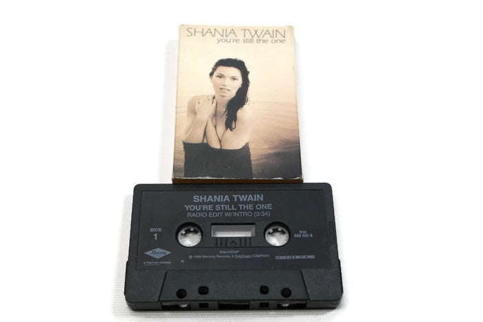 SHANIA TWAIN - Vintage Cassette Tape - YOU'RE STILL THE ONE