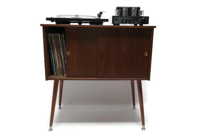 ... OUT** The Vintedge Co™ Mid Century Retro Record Player Stand ...