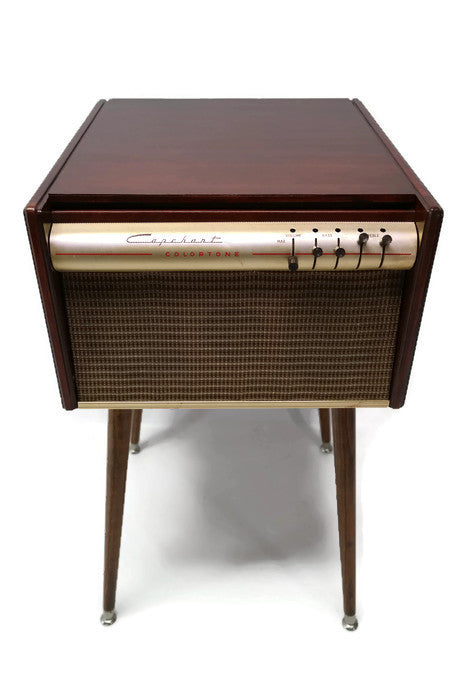 NOW AVAILABLE** CAPEHEART 50's Mid Century Record Player Changer ...