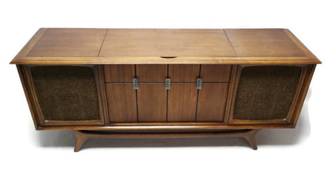 **SOLD OUT** RCA Mid Century Vintage Record Player Changer Stereo Console AM FM  - Bluetooth