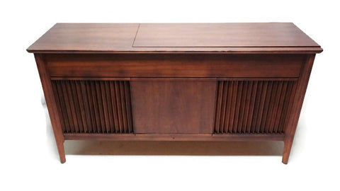 **SOLD OUT** PILOT Mid Century DELUXE Stereo Console Record Player Changer AM FM  - Bluetooth