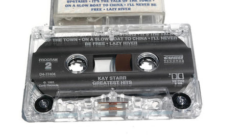 KAY STARR - Vintage Cassette Tape - GREATEST HITS