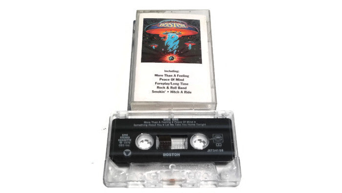 BOSTON - Vintage Cassette Tape - BOSTON