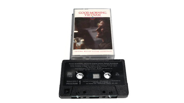 GOOD MORNING, VIETNAM - Vintage Cassette Tape - ORIGINAL MOTION PICTURE SOUNDTRACK