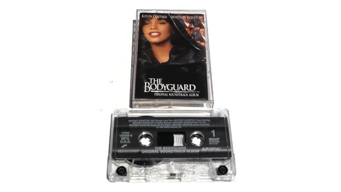 THE BODYGUARD - Vintage Cassette Tape - ORIGINAL MOTION PICTURE SOUNDTRACK