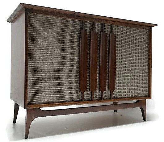 Mid Century Modern Westinghouse Vintage Stereo Console