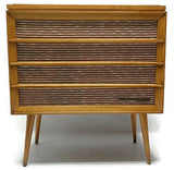 Mid Century Modern RCA Orthophonic Vintage HI FI Record Player - Record Changer - Bluetooth
