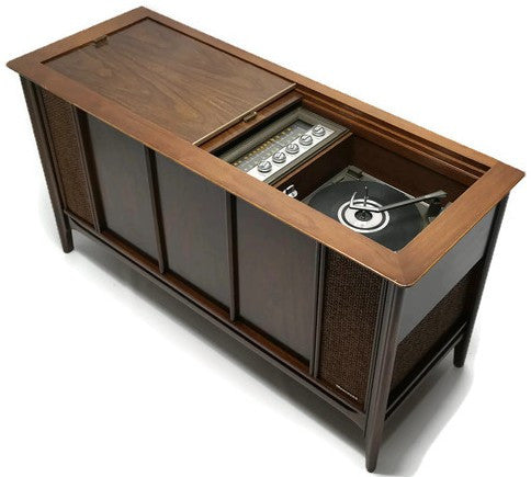 Mid Century Modern Magnavox Astrosonic Vintage Stereo Console - Record  Player Changer - AM/FM Tuner - Bluetooth