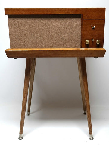 Mid Century Modern Hi Fi Record player the Voice of Music Bluetooth - Record Changer
