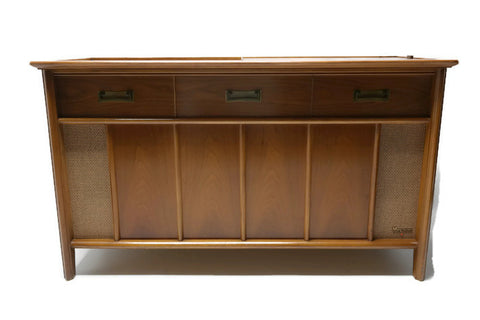 **COMING SOON** MAGNAVOX Mid Century Vintage Record Player Changer Stereo Console