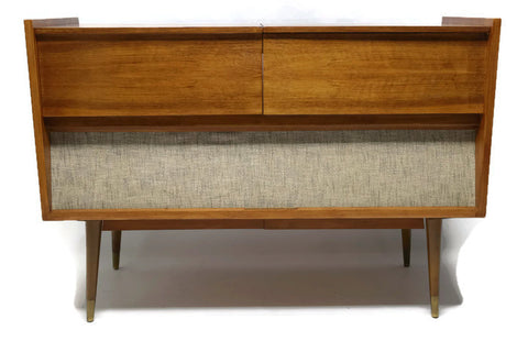 **NOW AVAILABLE** GRUNDIG MAJESTIC Mid Century Record Changer Player Hi Fi  Console