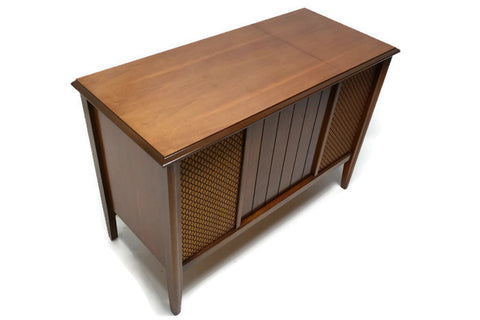 **COMING SOON** ZENITH Mid Century Vintage Record Player Changer Stereo Console
