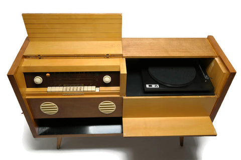 **NOW AVAILABLE** GRUNDIG MAJESTIC Vintage Record Player Changer Hi Fi Console