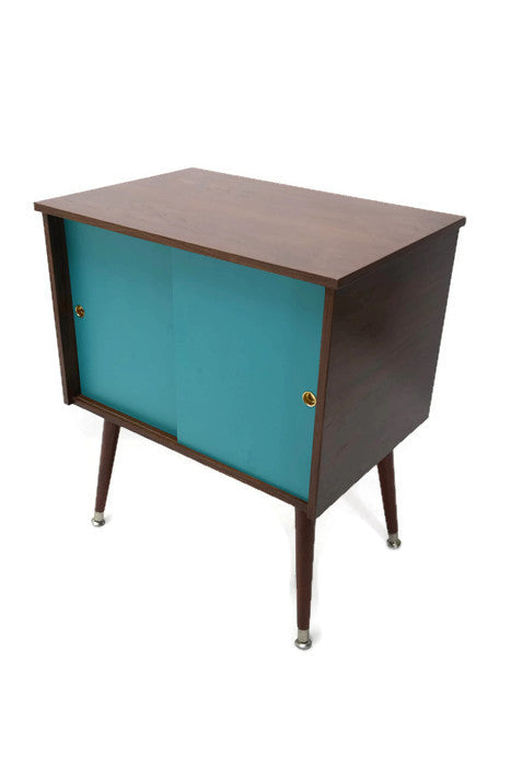 NOW AVAILABLE** VintedgeCo™ Mid Century Retro Record Player Stand ...