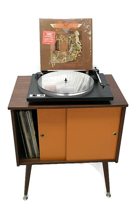 ... AVAILABLE** The Vintedge Co™ Mid Century Retro Record Player Stand ...