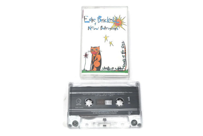EDIE BRICKELL & THE NEW BOHEMIANS - Vintage Cassette Tape - SHOOTING RUBBERBANDS AT THE STARS