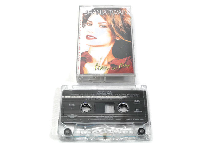 SHANIA TWAIN - Vintage Cassette Tape - COME ON OVER