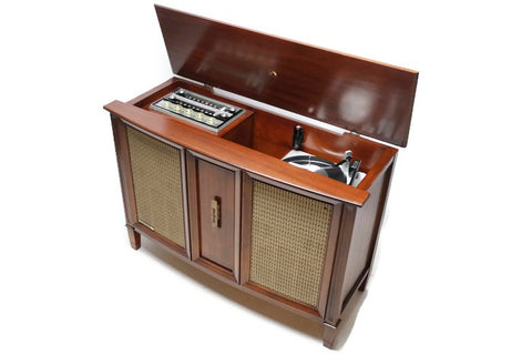 **SOLD OUT** Mid Century Vintage RCA Record Changer Player Stereo Console