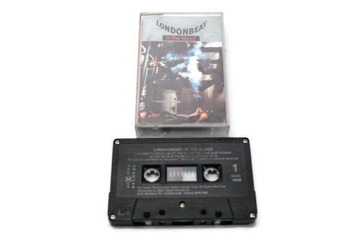 LONDONBEAT - Vintage Cassette Tape - IN THE BLOOD
