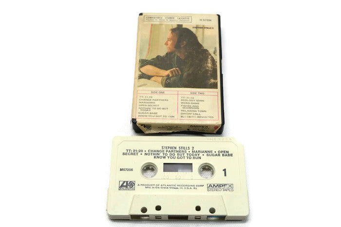 STEPHEN STILLS - Vintage Cassette Tape - STEPHEN STILLS 2