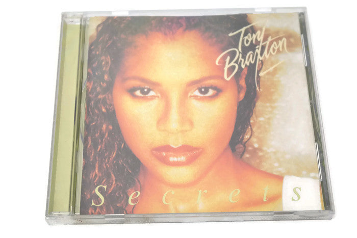 TONI BRAXTON - Compact Disc CD - SECRETS