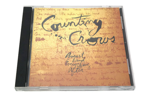 COUNTING CROWS - Compact Disc CD - AUGUST & EVERYTHING AFTER