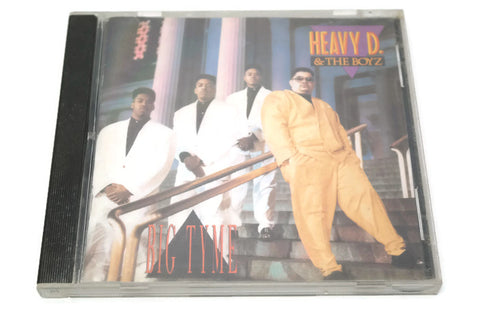 HEAVY D & THE BOYZ - Compact Disc CD - BIG TYME