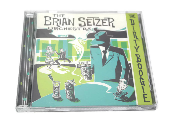 THE BRIAN SETZER ORCHESTRA - Compact Disc CD - THE DIRTY BOOGIE