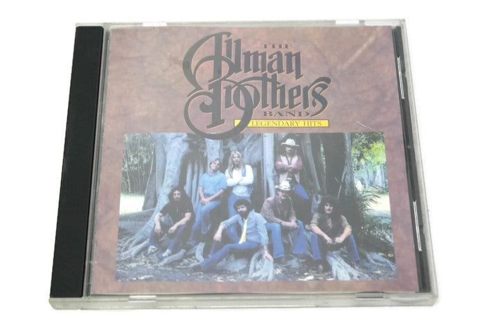 THE ALLMAN BROTHERS BAND - Compact Disc CD - LEGENDARY HITS