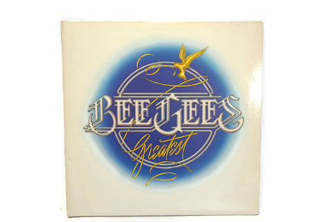 **SOLD OUT** BEE GEES - Vintage Record Vinyl Album - THE GREATEST HITS