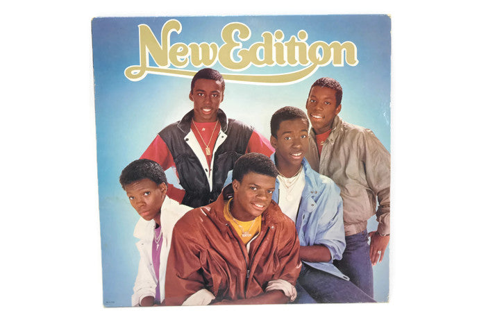 NEW EDITION - Vintage Record Vinyl Album - NEW EDITION