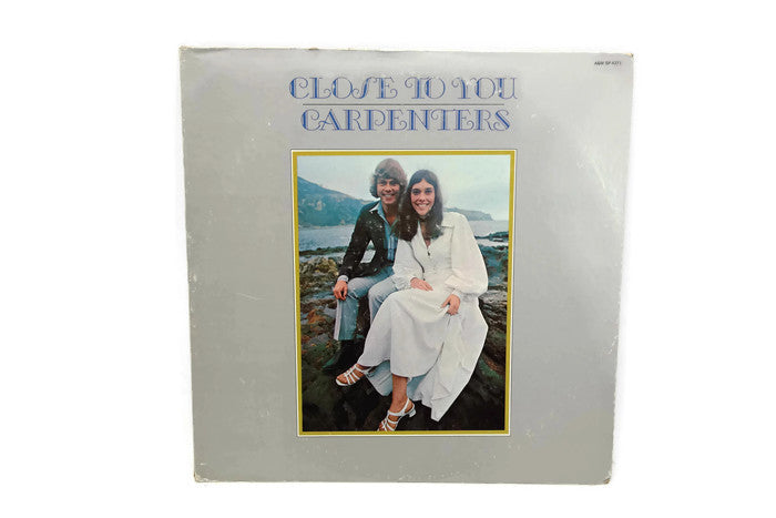 THE CARPENTERS - Vintage Record Vinyl Album - CLOSE TO YOU