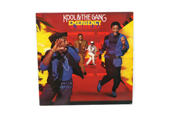 KOOL & THE GANG - Vintage Record Vinyl Album - EMERGENCY