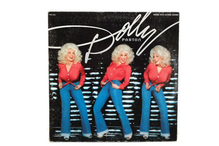DOLLY PARTON - Vintage Record Vinyl Album - HERE YOU COME AGAIN