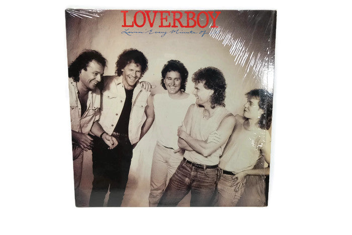 LOVERBOY - Vintage Record Vinyl Album - LOVIN' EVERY MINUTE OF IT