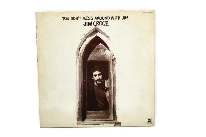 JIM CROCE - Vintage Record Vinyl Album - YOU DON'T MESS AROUND WITH JIM