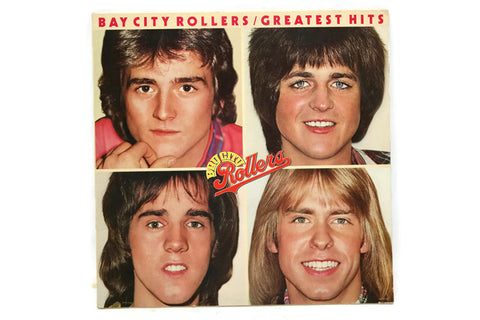 BAY CITY ROLLERS - Vintage Record Vinyl Album - GREATEST HITS