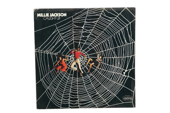 MILLIE JACKSON - Vintage Record Vinyl Album - CAUGHT UP