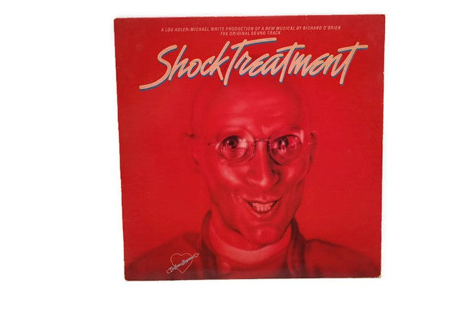 SHOCK TREATMENT - Vintage Record Vinyl Album - MOTION PICTURE SOUNDTRACK
