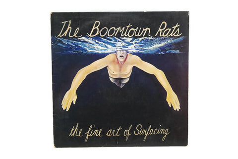 THE BOOMTOWN RATS - Vintage Record Vinyl Album - THE FINE ART OF SURFACING