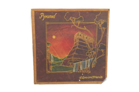 EL CHICANO - Vintage Record Vinyl Album - PYRAMID OF LOVE AND FRIENDS