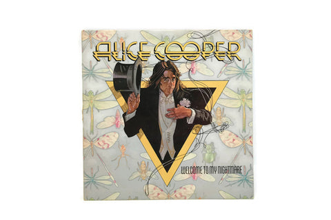 ALICE COOPER - Vintage Record Vinyl Album - WELCOME TO MY NIGHTMARE