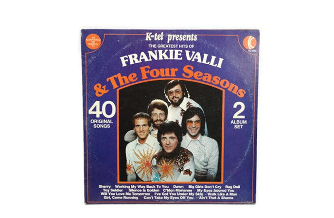 FRANKIE VALLI & THE FOUR SEASONS - Vintage Record Vinyl Album - THE GREATEST HITS