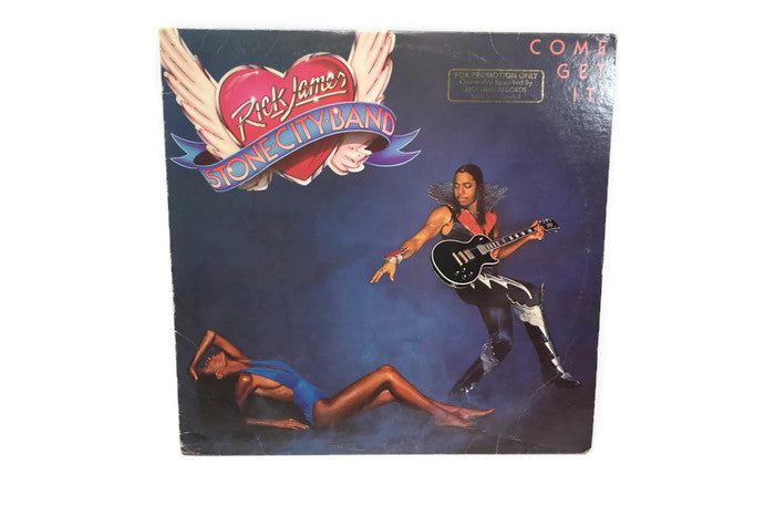 RICK JAMES - Vintage Record Vinyl Album - STONE CITY BAND