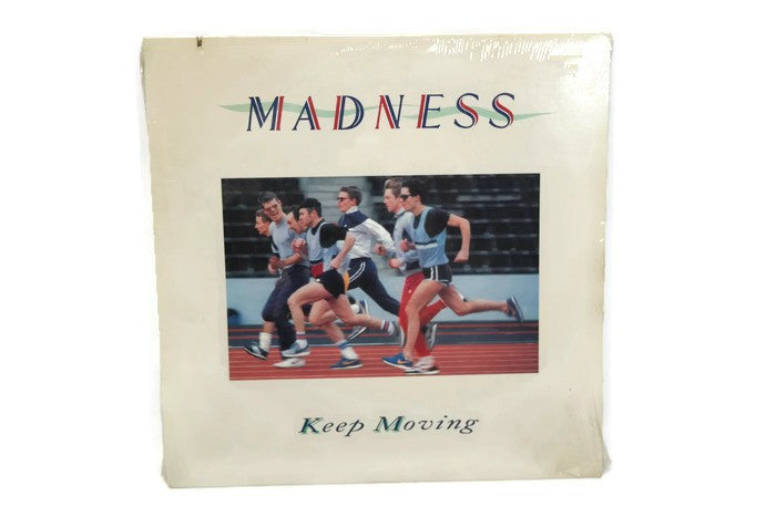 MADNESS - Vintage Record Vinyl Album - KEEP MOVING
