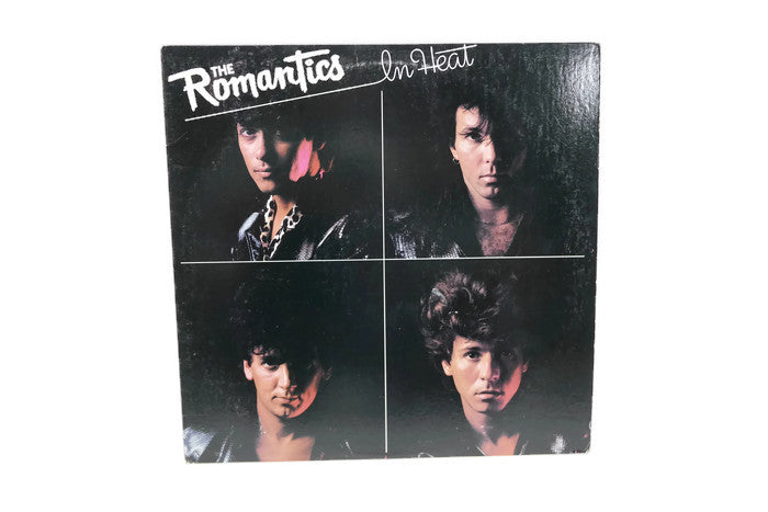 THE ROMANTICS - Vintage Vinyl Record Album - IN HEAT