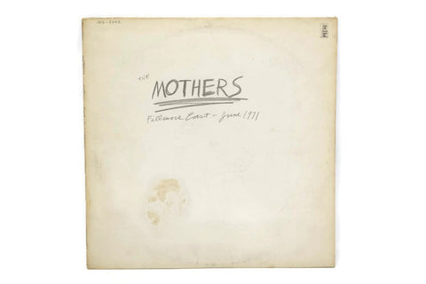 THE MOTHERS - Vintage Vinyl Record Album - FILLMORE EAST 1971