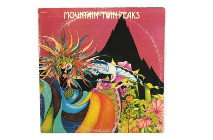MOUNTAIN - Vintage Vinyl Record Album - TWIN PEAKS