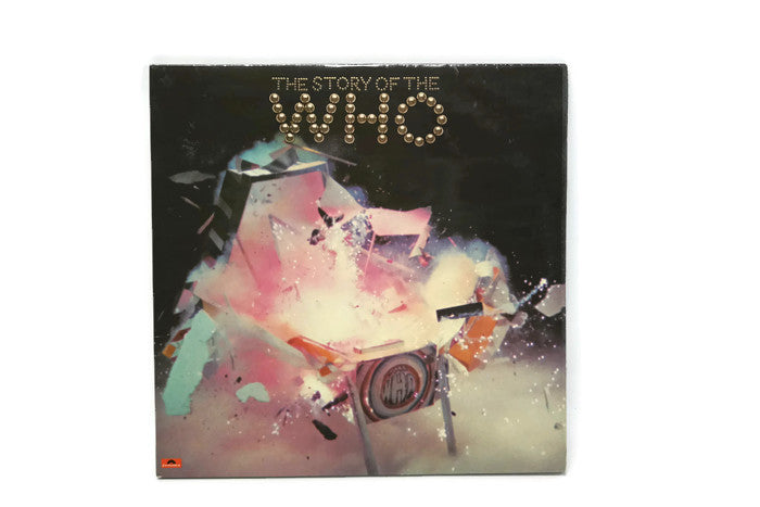 THE WHO - Vintage Vinyl Record Album - THE STORY OF THE WHO