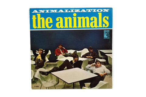 THE ANIMALS - Vintage Vinyl Record Album - ANIMALIZATION